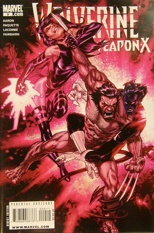 Cover of Wolverine: Weapon X (Vol 1) #9. One of 250,000 Vintage American Comics on sale from Krypton!