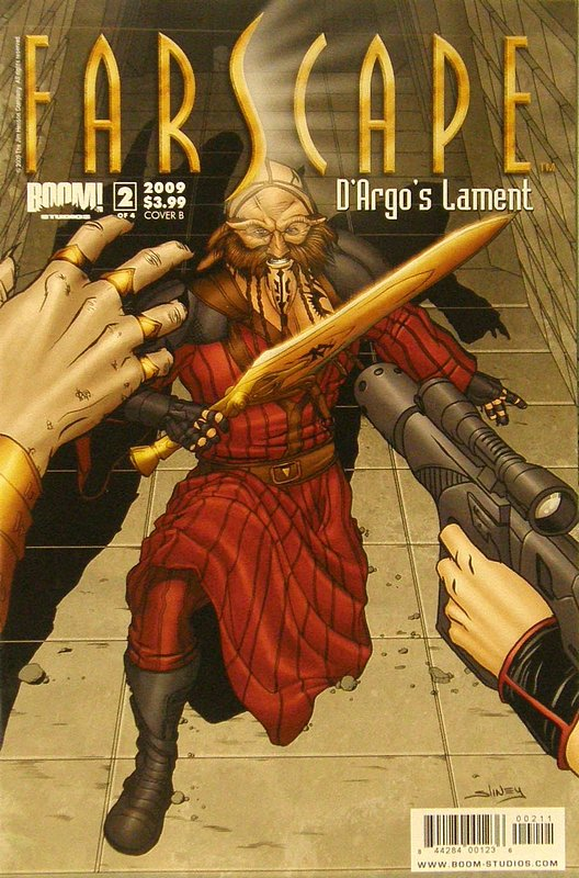 Cover of Farscape: Dargos Lament (2009 Ltd) #2. One of 250,000 Vintage American Comics on sale from Krypton!