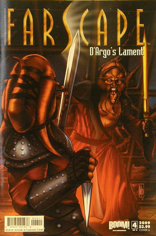 Cover of Farscape: Dargos Lament (2009 Ltd) #4. One of 250,000 Vintage American Comics on sale from Krypton!