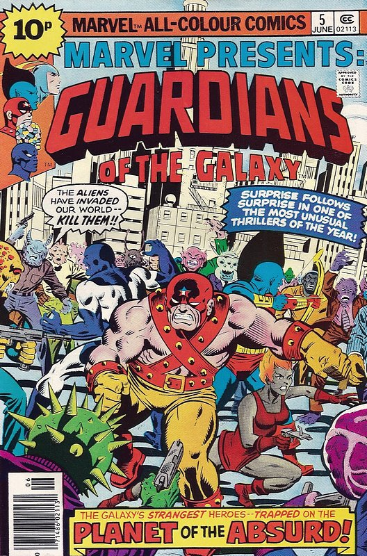 Cover of Marvel Presents (Vol 1) #5. One of 250,000 Vintage American Comics on sale from Krypton!