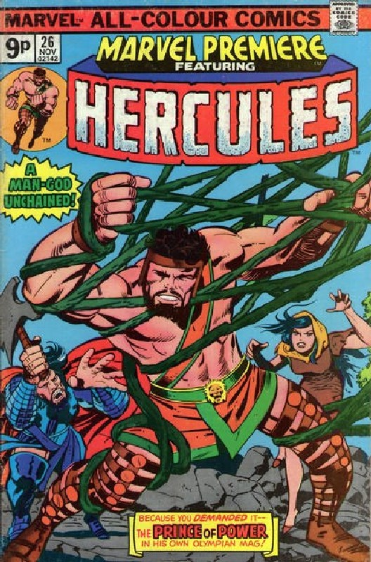 Cover of Marvel Premiere (Vol 1) #26. One of 250,000 Vintage American Comics on sale from Krypton!