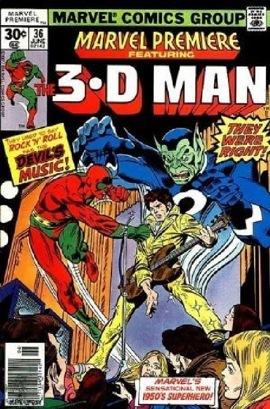Cover of Marvel Premiere (Vol 1) #36. One of 250,000 Vintage American Comics on sale from Krypton!