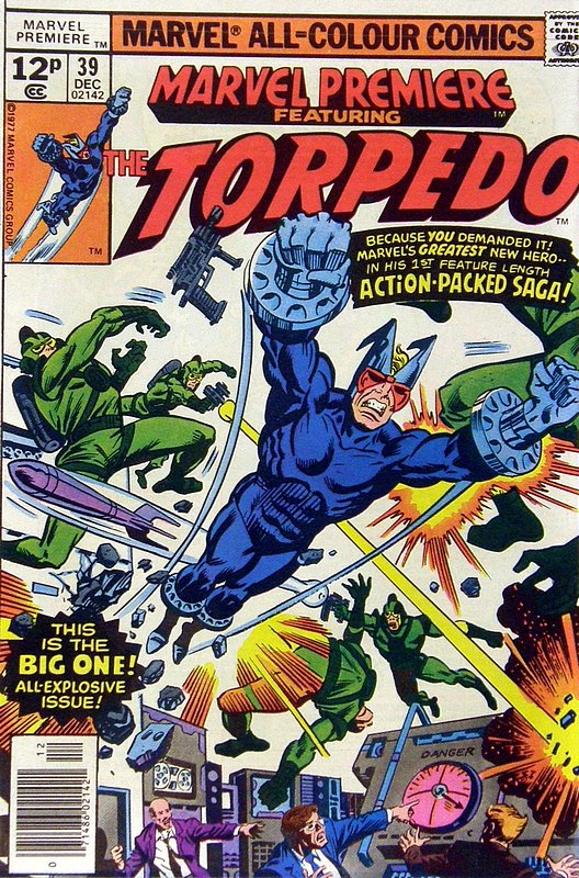 Cover of Marvel Premiere (Vol 1) #39. One of 250,000 Vintage American Comics on sale from Krypton!