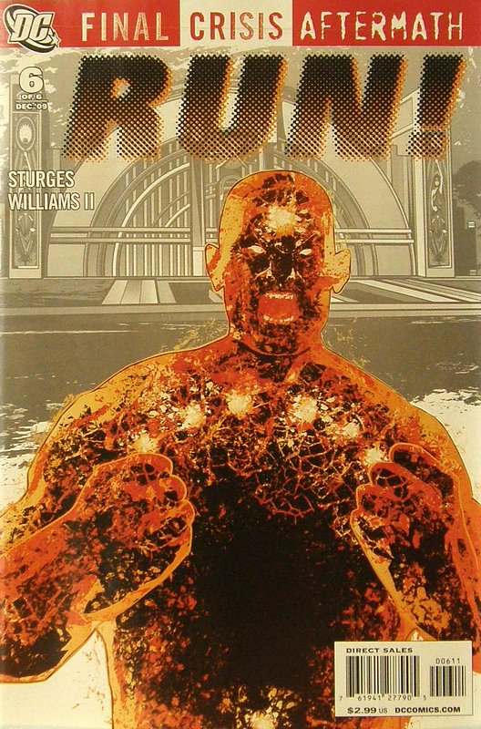 Cover of Final Crisis: Aftermath - Run (2009 Ltd) #6. One of 250,000 Vintage American Comics on sale from Krypton!