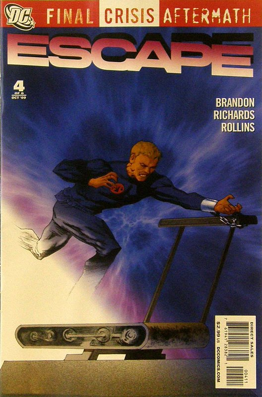 Cover of Final Crisis: Aftermath - Escape (2009 Ltd) #4. One of 250,000 Vintage American Comics on sale from Krypton!