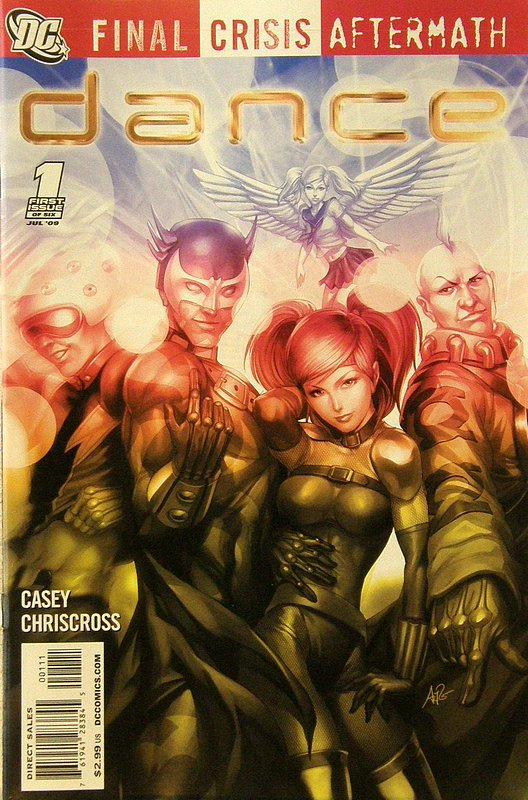 Cover of Final Crisis: Aftermath - Dance #1. One of 250,000 Vintage American Comics on sale from Krypton!