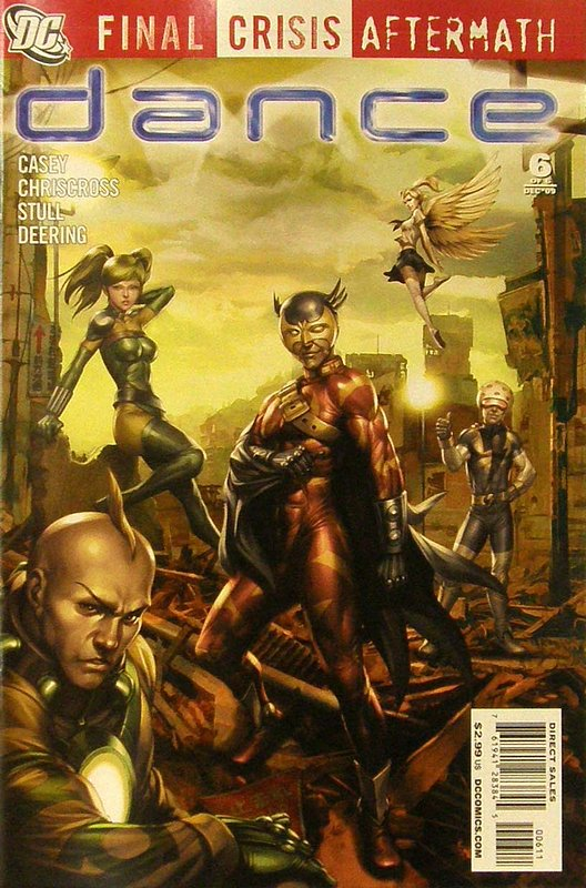 Cover of Final Crisis: Aftermath - Dance #6. One of 250,000 Vintage American Comics on sale from Krypton!