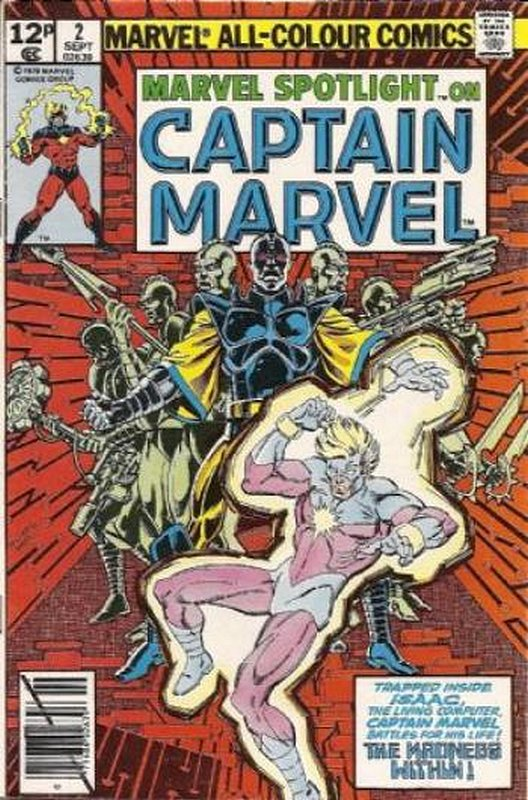 Cover of Marvel Spotlight (Vol 2) #2. One of 250,000 Vintage American Comics on sale from Krypton!