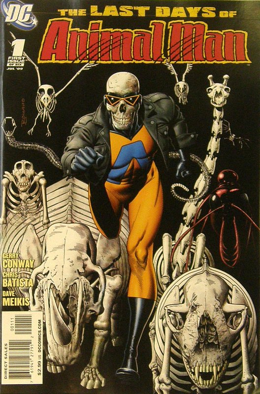 Cover of Last Animal Man (2009 Ltd) #1. One of 250,000 Vintage American Comics on sale from Krypton!