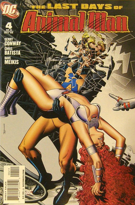 Cover of Last Animal Man (2009 Ltd) #4. One of 250,000 Vintage American Comics on sale from Krypton!
