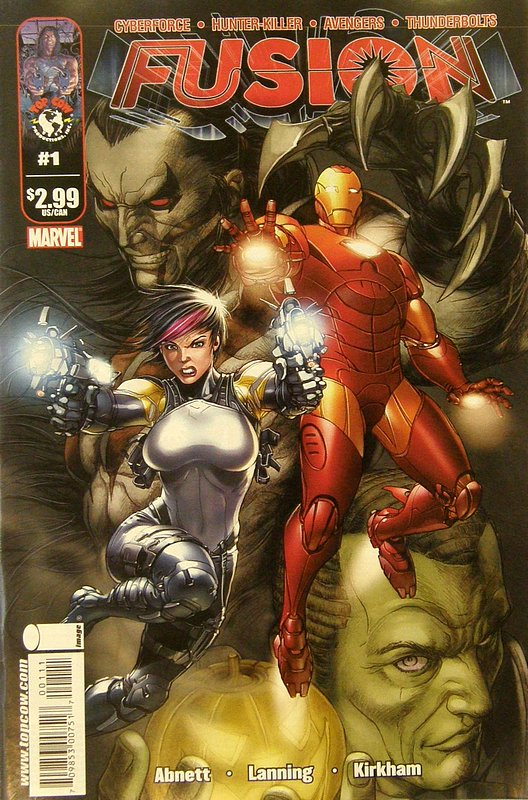 Cover of Fusion (2009 Ltd) #1. One of 250,000 Vintage American Comics on sale from Krypton!