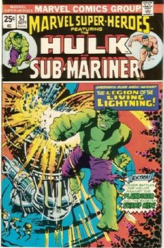 Cover of Marvel Super-Heroes (Vol 1) #52. One of 250,000 Vintage American Comics on sale from Krypton!