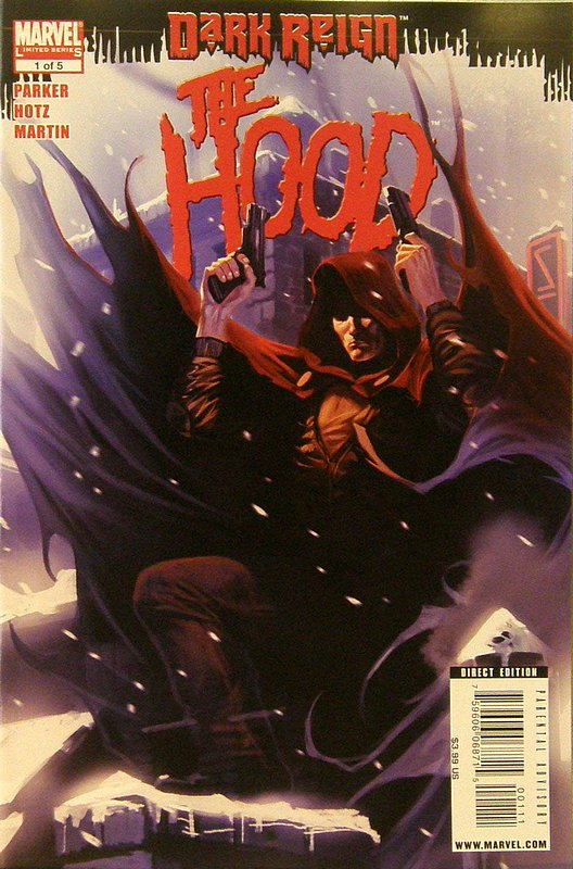 Cover of Dark Reign: Hood (2009 Ltd) #1. One of 250,000 Vintage American Comics on sale from Krypton!