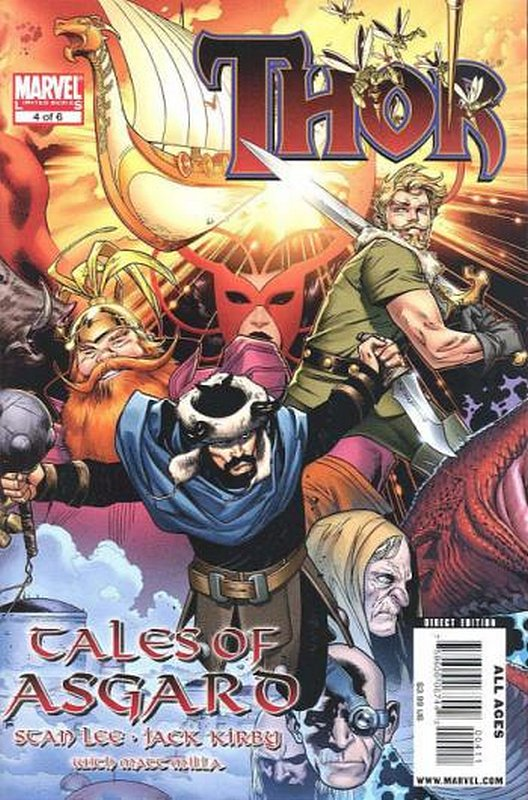 Cover of Thor: Tales of Asgard (2009 Ltd) #4. One of 250,000 Vintage American Comics on sale from Krypton!