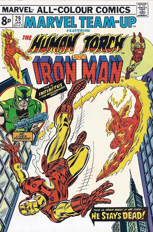 Cover of Marvel Team-up (Vol 1) #29. One of 250,000 Vintage American Comics on sale from Krypton!