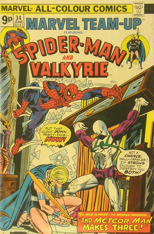 Cover of Marvel Team-up (Vol 1) #34. One of 250,000 Vintage American Comics on sale from Krypton!