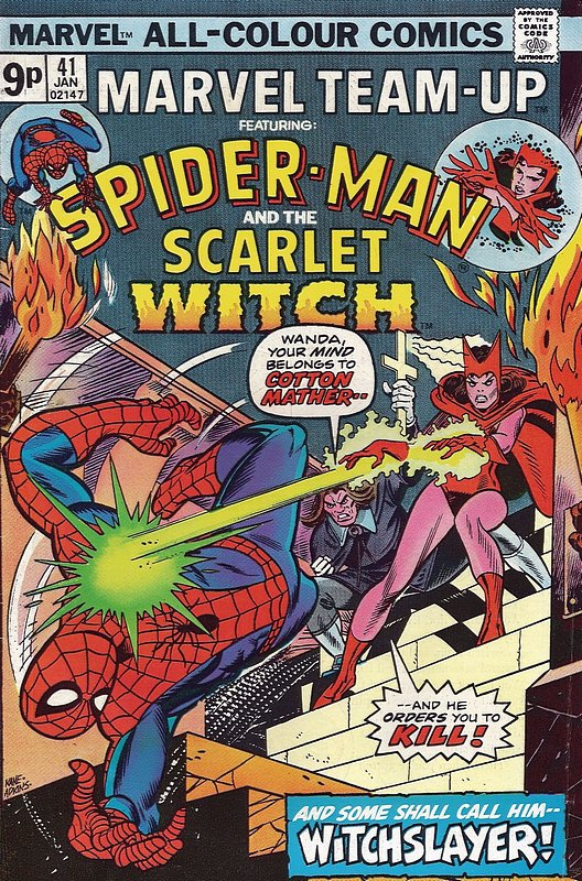 Cover of Marvel Team-up (Vol 1) #41. One of 250,000 Vintage American Comics on sale from Krypton!