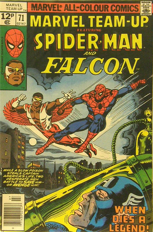 Cover of Marvel Team-up (Vol 1) #71. One of 250,000 Vintage American Comics on sale from Krypton!