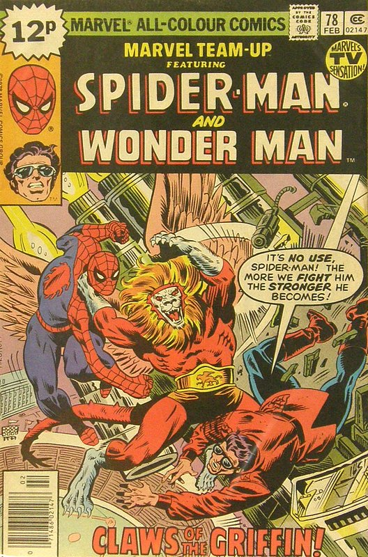Cover of Marvel Team-up (Vol 1) #78. One of 250,000 Vintage American Comics on sale from Krypton!
