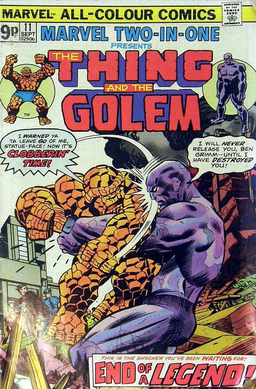 Cover of Marvel Two-in-one (Vol 1) #11. One of 250,000 Vintage American Comics on sale from Krypton!