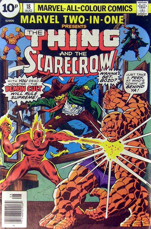 Cover of Marvel Two-in-one (Vol 1) #18. One of 250,000 Vintage American Comics on sale from Krypton!