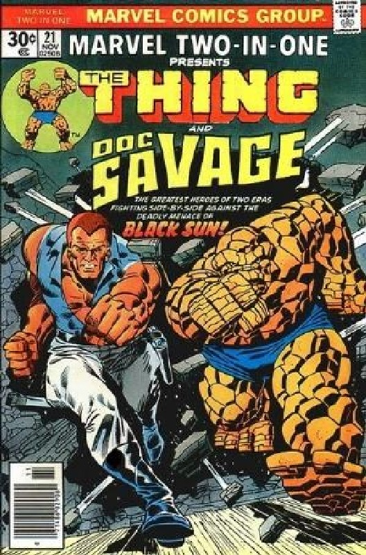 Cover of Marvel Two-in-one (Vol 1) #21. One of 250,000 Vintage American Comics on sale from Krypton!