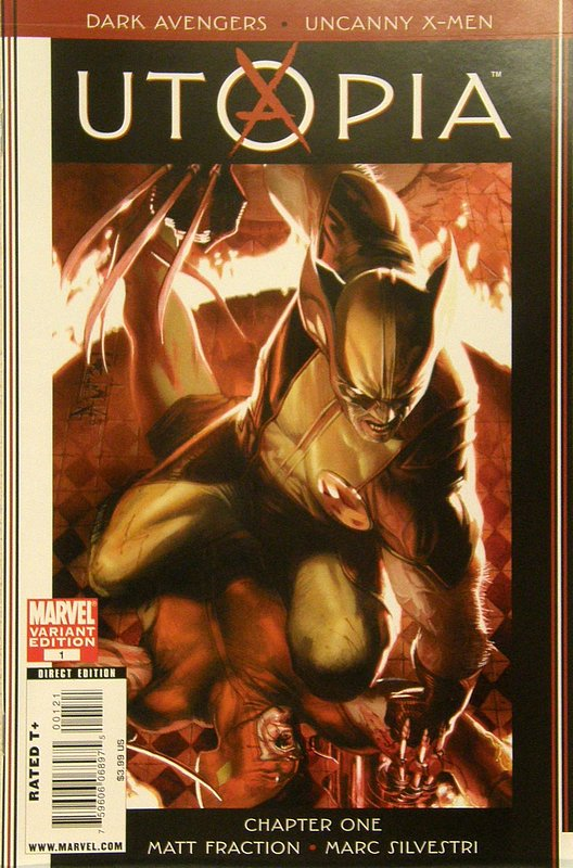 Cover of Dark Avengers/Uncanny X-Men: Utopia #1. One of 250,000 Vintage American Comics on sale from Krypton!