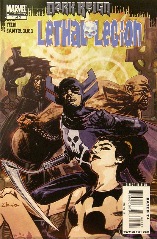 Cover of Dark Reign: Lethal Legion (2009 Ltd) #1. One of 250,000 Vintage American Comics on sale from Krypton!