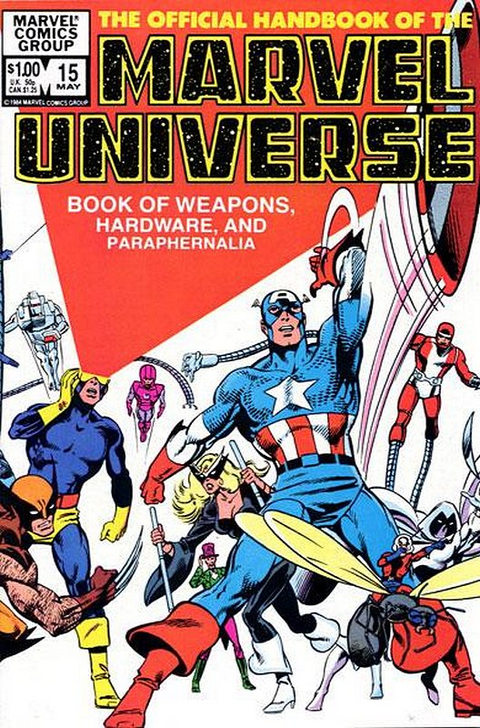 Cover of Marvel Universe (Vol 1) Official Handbook of the #15. One of 250,000 Vintage American Comics on sale from Krypton!
