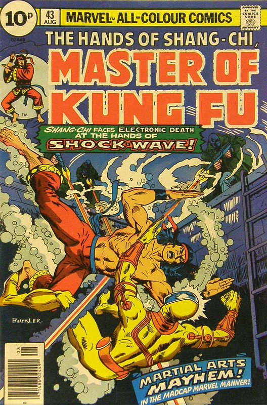 Cover of Master of Kung Fu (Vol 1) #43. One of 250,000 Vintage American Comics on sale from Krypton!