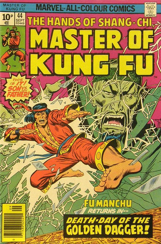 Cover of Master of Kung Fu (Vol 1) #44. One of 250,000 Vintage American Comics on sale from Krypton!