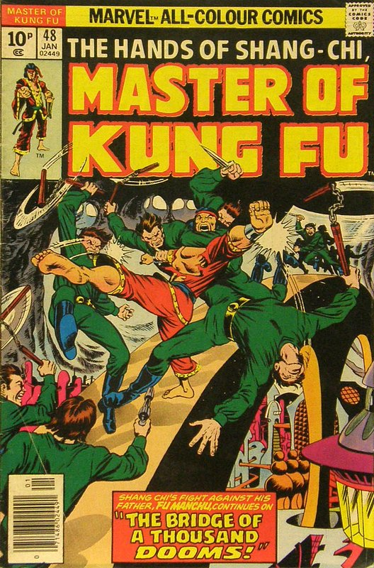 Cover of Master of Kung Fu (Vol 1) #48. One of 250,000 Vintage American Comics on sale from Krypton!
