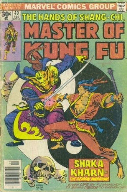 Cover of Master of Kung Fu (Vol 1) #49. One of 250,000 Vintage American Comics on sale from Krypton!