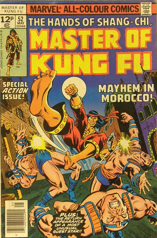 Cover of Master of Kung Fu (Vol 1) #52. One of 250,000 Vintage American Comics on sale from Krypton!