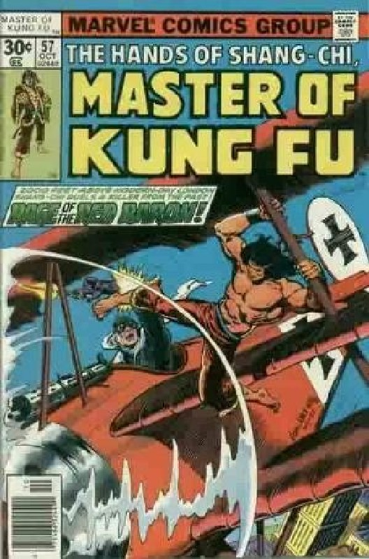 Cover of Master of Kung Fu (Vol 1) #57. One of 250,000 Vintage American Comics on sale from Krypton!