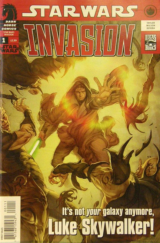 Cover of Star Wars: Invasion (2009 Ltd) #1. One of 250,000 Vintage American Comics on sale from Krypton!