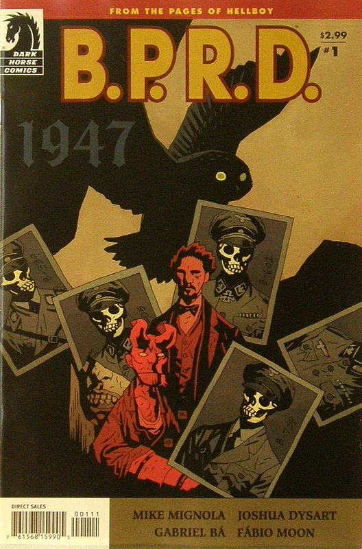 Cover of BPRD: 1947 (2009 Ltd) #1. One of 250,000 Vintage American Comics on sale from Krypton!