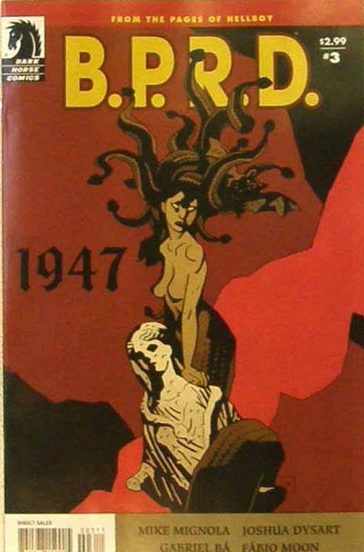 Cover of BPRD: 1947 (2009 Ltd) #3. One of 250,000 Vintage American Comics on sale from Krypton!