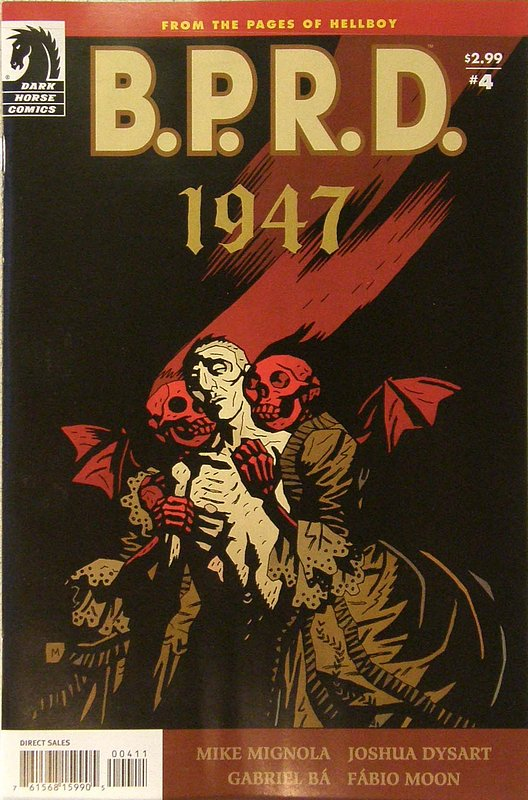 Cover of BPRD: 1947 (2009 Ltd) #4. One of 250,000 Vintage American Comics on sale from Krypton!