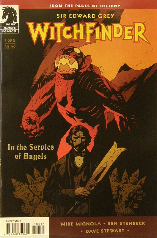 Cover of Witchfinder: In Service of Angels (2009 Ltd) #1. One of 250,000 Vintage American Comics on sale from Krypton!