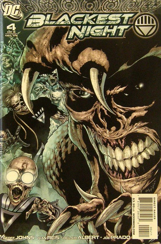 Cover of Blackest Night (2009 Ltd) #4. One of 250,000 Vintage American Comics on sale from Krypton!