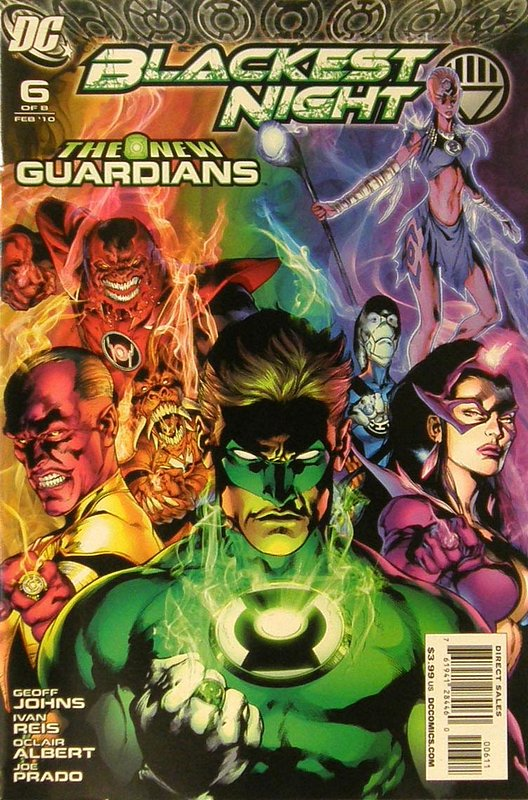 Cover of Blackest Night (2009 Ltd) #6. One of 250,000 Vintage American Comics on sale from Krypton!