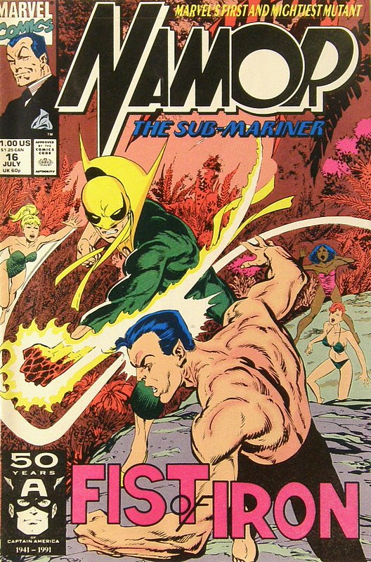 Cover of Namor (Vol 1) #16. One of 250,000 Vintage American Comics on sale from Krypton!