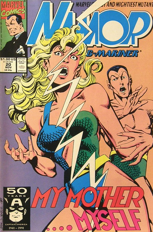 Cover of Namor (Vol 1) #20. One of 250,000 Vintage American Comics on sale from Krypton!