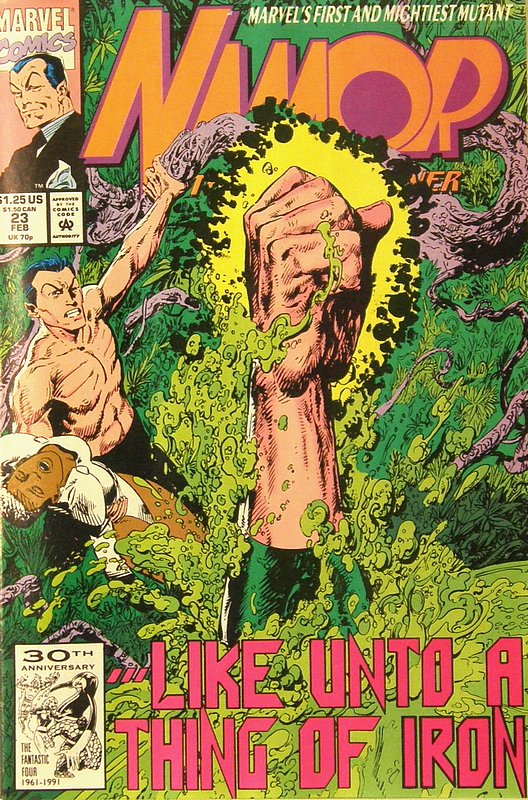 Cover of Namor (Vol 1) #23. One of 250,000 Vintage American Comics on sale from Krypton!