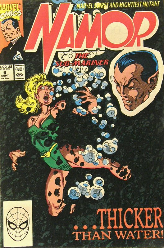 Cover of Namor (Vol 1) #6. One of 250,000 Vintage American Comics on sale from Krypton!