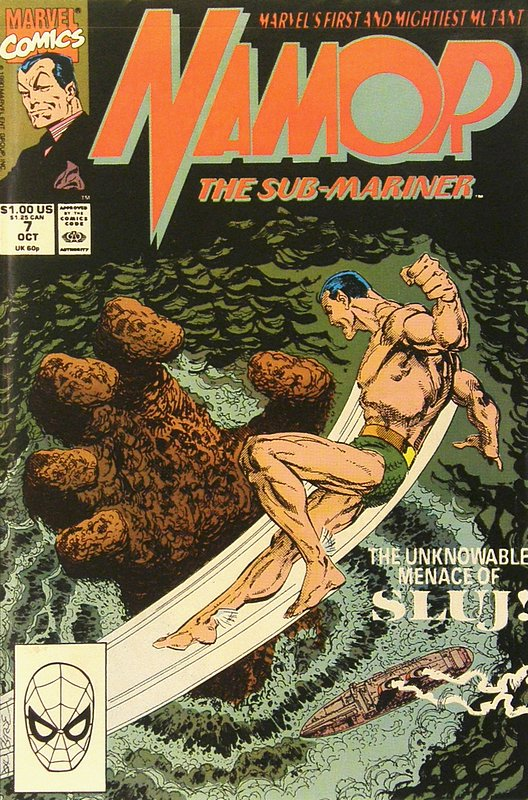 Cover of Namor (Vol 1) #7. One of 250,000 Vintage American Comics on sale from Krypton!