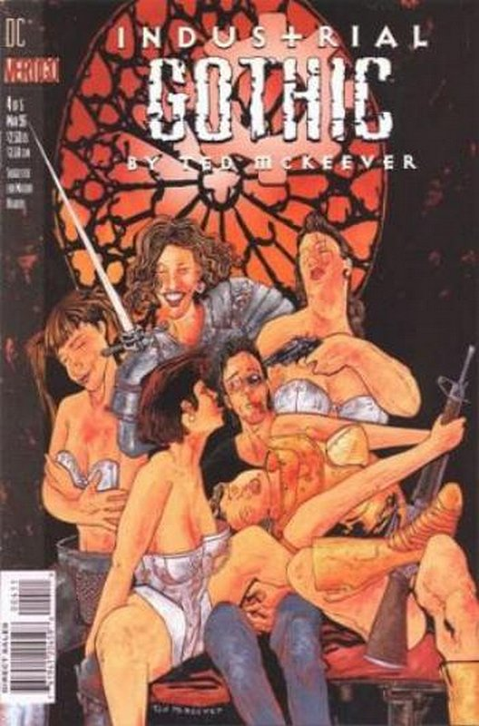 Cover of Industrial Gothic (1995 Ltd) #4. One of 250,000 Vintage American Comics on sale from Krypton!