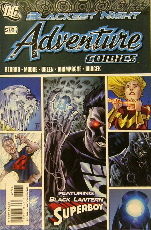 Cover of Adventure Comics (Vol 2) #7. One of 250,000 Vintage American Comics on sale from Krypton!
