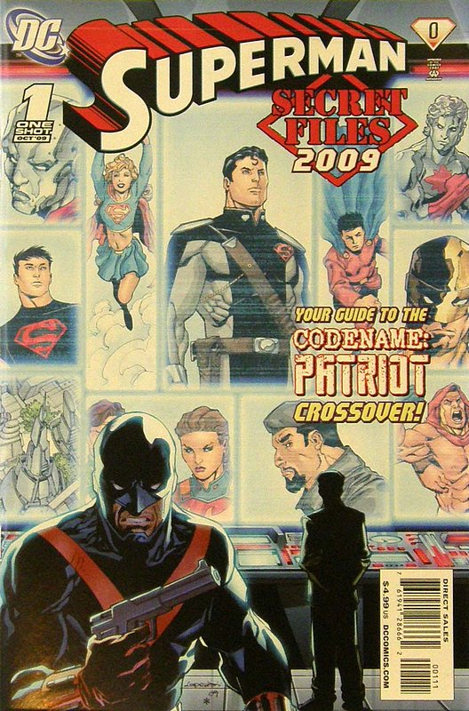 Cover of Superman Secret Files (2009 One Shot) #1. One of 250,000 Vintage American Comics on sale from Krypton!